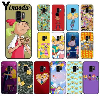 Yinuoda Hey Arnold Popular Design Case cover Shell For GALAXY s5 s6 edge plus s7 edge s8 plus s9 plus image