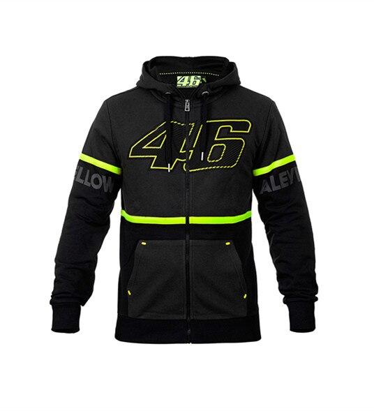 <font><b>Motorcycle</b></font> Large 93 Jerseys tops <font><b>Rossi</b></font> 46 M1 New Men's hooded Sweater The Doctor <font><b>T-shirts</b></font> <font><b>MOTO</b></font> <font><b>GP</b></font> VR46 Race fleece Casual Coat