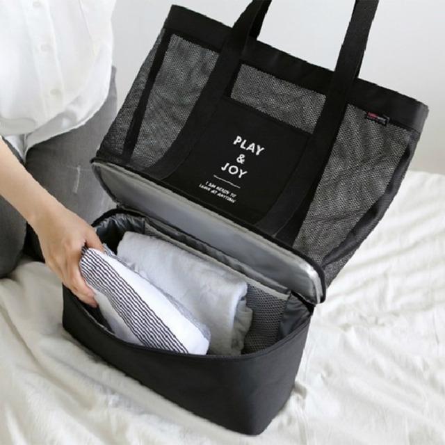 High Quality Canvas Women Single Shoulder Bag Large Capacity Outdoor Travel Picnic Convenient Bag With Zipper