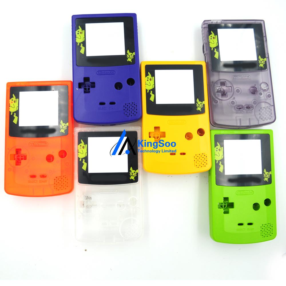 Game boy color quanto vale - Para Pokemon Pikachu Conjunto Completo Caso Da Habita O Para Gameboy Color Gbc Shell Com O Bot O