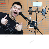 Multi seat mobile phone live bracket Bluetooth remote control multifunctional shooting selfie equipment full Set CD50 T07