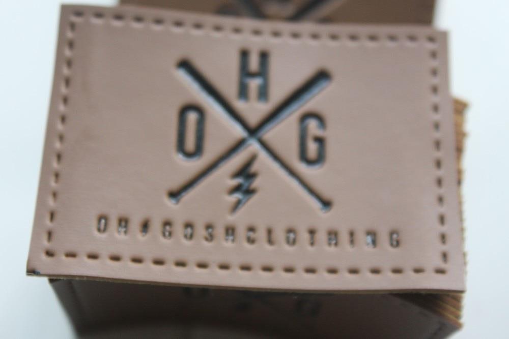 مخصص تنقش بو tag أساسا ل الجينز أو أكياس فو الجلود التسمية التصحيح 1000 قطع الكثير-في ملصقات الملابس من المنزل والحديقة على  مجموعة 1