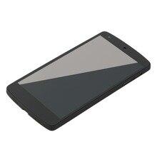 Высокое качество ЖК-дисплей Дисплей сенсорный дигитайзер Экран + Рамка для Google Nexus 5 LG D820 D821 Прямая доставка