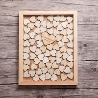 Personalised Nature Wedding Tree Guest book, Wooden Love Birds, Family Tree Guest Book, Tree of Life, Drop Box Heart Guestbook