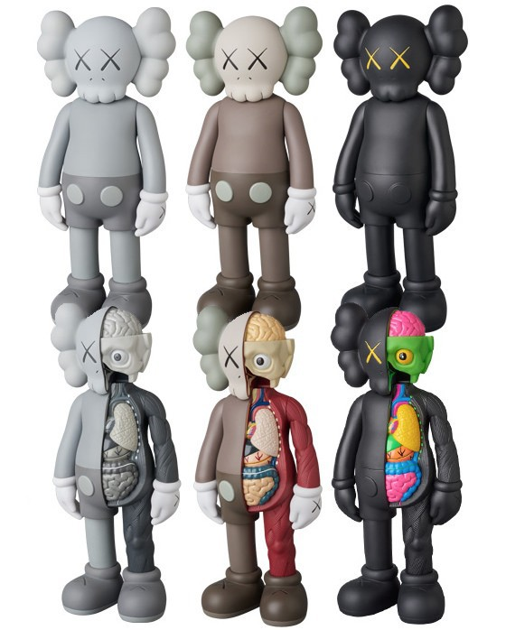 Servwell 37CM 16inch KAWS Dissected Companion action figures toys for children original fake toysServwell 37CM 16inch KAWS Dissected Companion action figures toys for children original fake toys