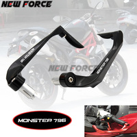 Universal 7/8 22mm Motorcycle Handlebar Brake Clutch Levers Protector Guard For Ducati 796 MONSTER MONSTER796 2011 2014