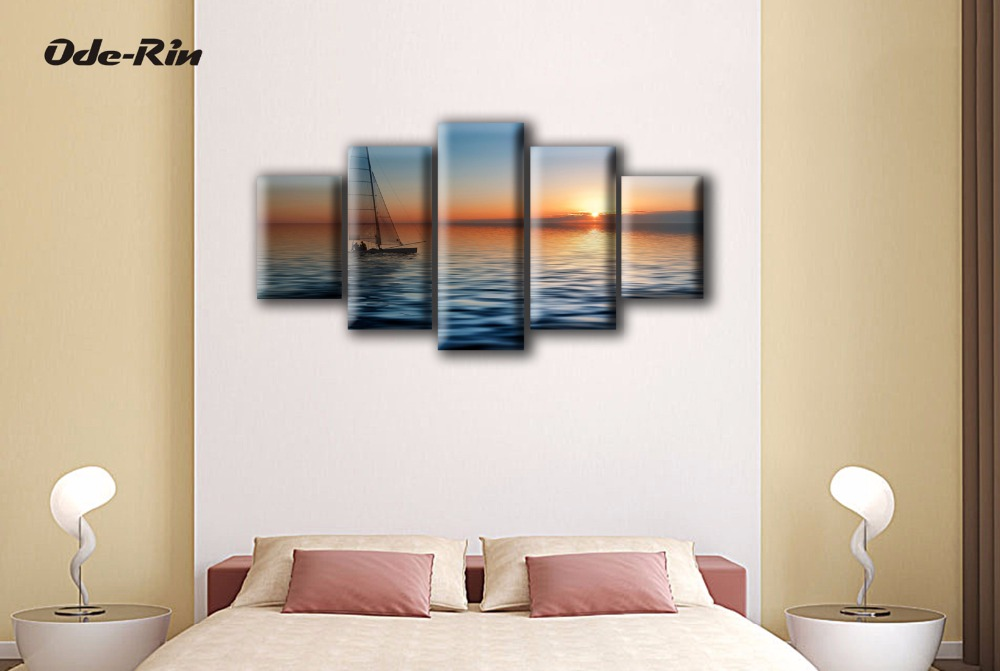 Buy adornment landscapes of europe type - What type of paint to use in bedroom ...