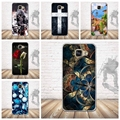 For Samsung Galaxy A5 2016 A510 A510H A510F Phone Case Luxury 3D Relief Printing Soft Silicone Back Cover For Samsung A5 2016