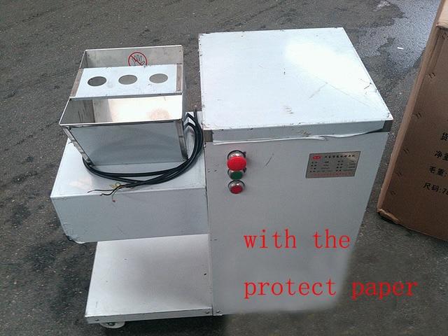 Machine de découpe de viande électrique trancheuse de viande QW 110/220/380 v coupe-viande 800 kg/h machine de traitement de viande