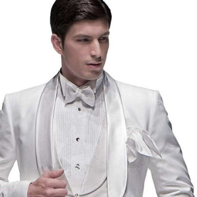 (Jacket+Pants+Vest+BowTie+Square) Men Suits 2017 5pcs white  sc 1 st  AliExpress.com & Jacket+Pants+Vest+BowTie+Square) Men Suits 2017 5pcs white Tuxedo ...