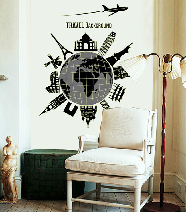 Traveling quotes wall decor