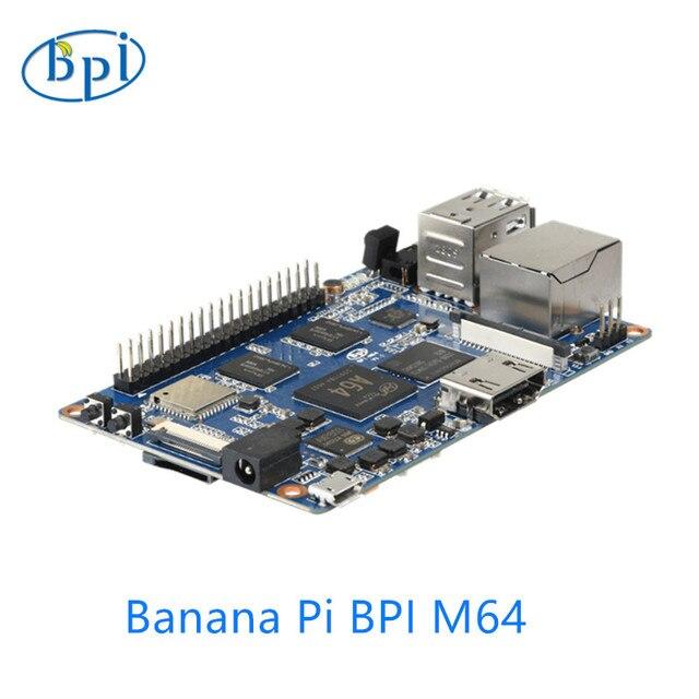64-bit Quad-core mini computador de placa única BPI-M64 Placa De Banana Pi