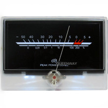 Haute-précision Audio Amplificateur de Puissance VU-Mètre DB-TÊTE de Niveau Indicateur Pic Avec Rétro-Éclairage