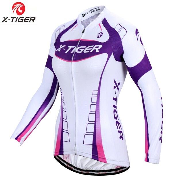 X-Tiger Pro Women Cycling Jersey Autumn MTB Bike Wear Bicycle Clothes Long  Sleeve Womens Cycling Clothing Ropa De Ciclismo a532ce55e