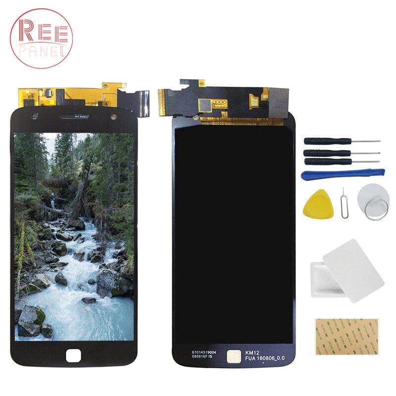 AMOLED Écran LCD Pour Motorola Moto Z Jouer XT1635 LCD Écran LCD Écran Tactile Digitizer Assemly pièces de rechange + de réparation outil
