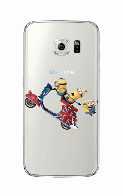 Funny Despicable Me Minions Phone Case Cover