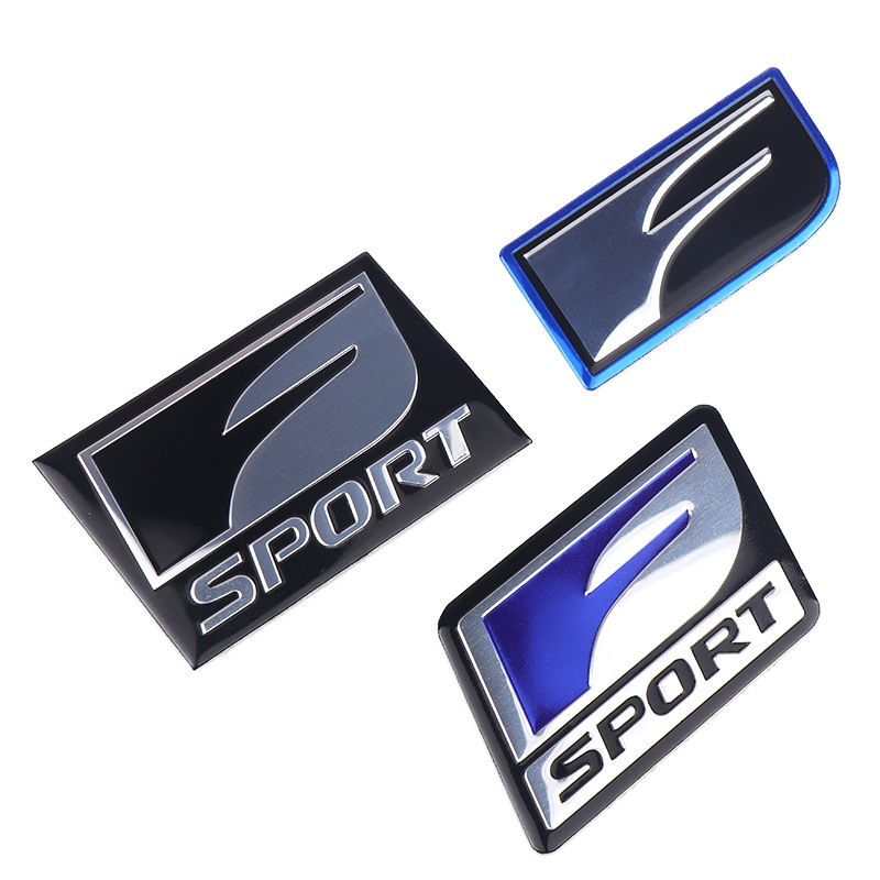 Car Sticker Badge Emblem Metal Decal For <font><b>Lexus</b></font> F SPORT IS ISF GS RX RX300 <font><b>RX350</b></font> ES IS250 ES350 LX570 CT200 Styling Accessories image