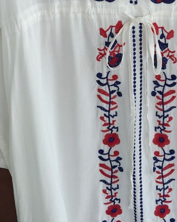 Embroidery Vintage Tunics Kaftan Beach Cover Up  3ea0c093a