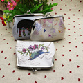 Mara's Dream Excellent Quality Women Coin Change Purse Elephant Printing Lady Purse Leather Coin Wallet Female Money Bag Wallet