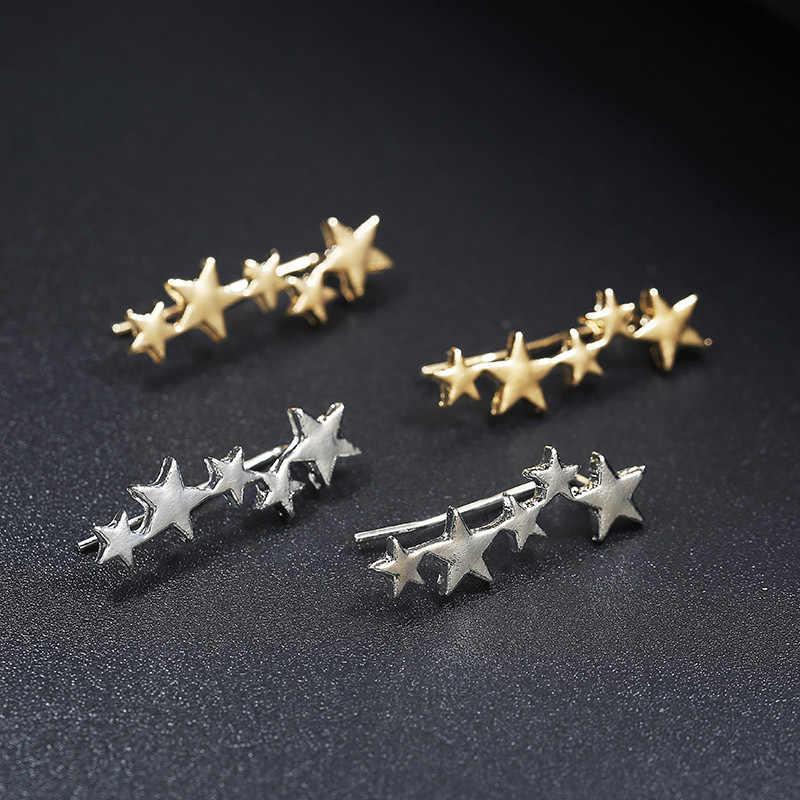 2020 offre spéciale Spike boucle d'oreille Oorbellen Aretes édition coréenne mode Simple nouveau boucles d'oreilles exquis oreille Clip ongles dames bijoux