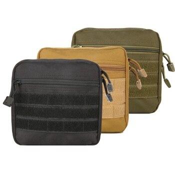 Bolso Militar MOLLE Admin Táctico Multi Kit Médico Bolsa Cinturón De Herramientas De Utilidad EDC Bolsa Para Camping Senderismo Caza 2018