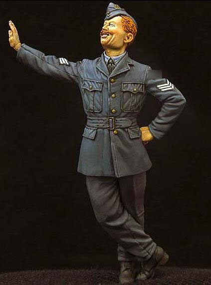 1/35 Resin Figures WWII Allied Pilot 1PC