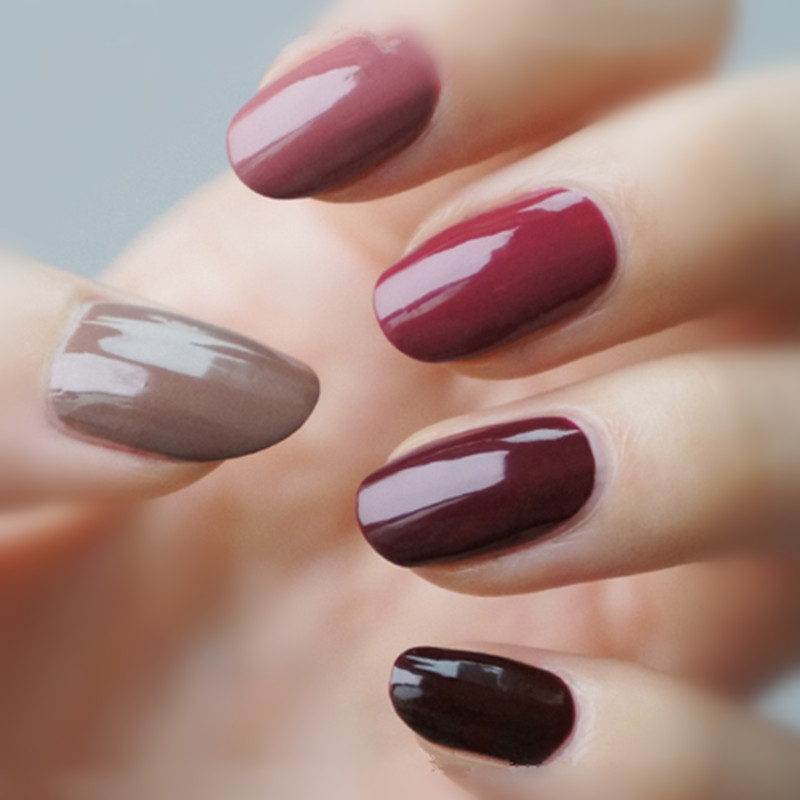 Candy Lover Wine Red Series Color Collection Gel Nail Polish Uv Led 1 Piece Capacity 8ml Each 12 For Choose In From Beauty Health
