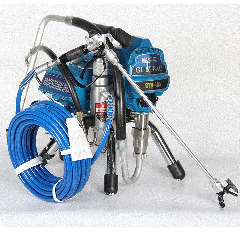 Professional airless spraying machine Professional Airless Spray Gun 2500W 2.5L Airless Paint Sprayer 495 painting machine tool недорого