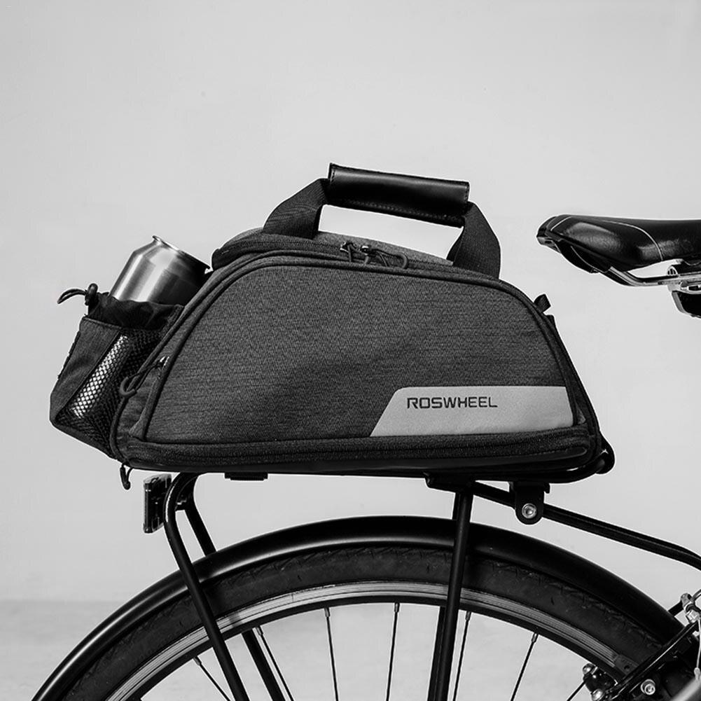 11L sac de vélo vélo siège arrière Rack coffre sac pour vtt vélo selle sacs mallette de rangement pochette pour porte-bagages S3