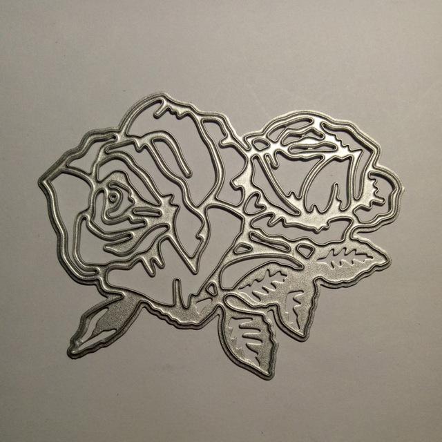Flower Mandala Metal Embossing Stencil