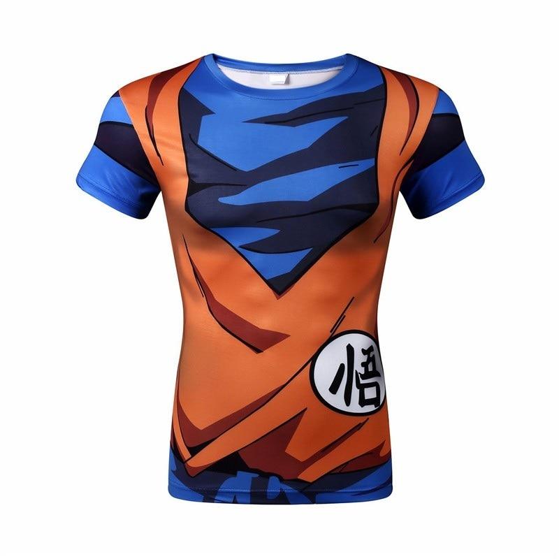 WAIBO BEAR New dragon ball t shirt Men armor 3d t shirt printed compression shirt tops
