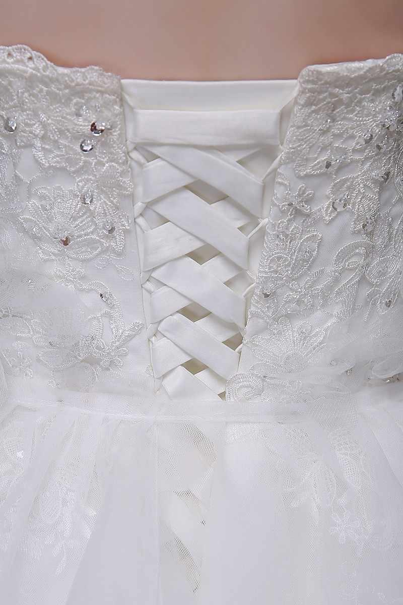 תחרה חתונה שמלות ארוך כדור שמלה כבוי כתף המדינה מערבי חתונה שמלות חתונה כלה הכלה שמלות Weddingdress