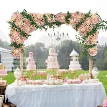 80cm x 80cm artificial flower strips Wedding Pavillion Flowers backdrop flower wall Wedding decoration