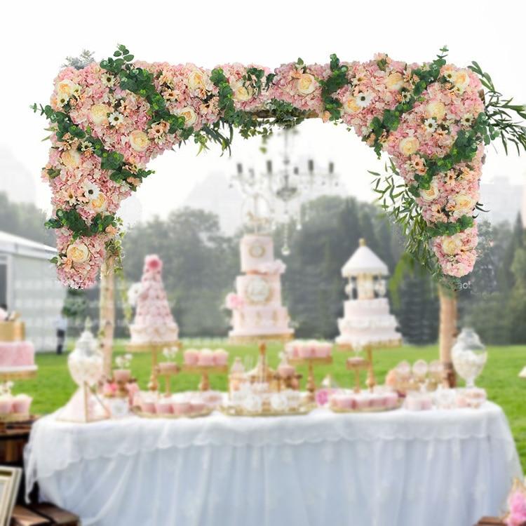 80cm x 80cm artificial flower strips font b Wedding b font Pavillion Flowers font b backdrop