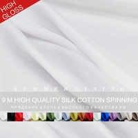 Pearlsilk qualité soie lisse/coton tissu robe d'été doublure vêtement matériel bricolage vêtements tissus soie/coton livraison gratuite