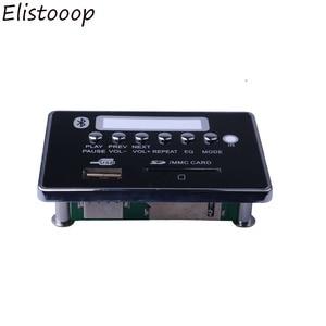 Image 5 - 2019 Xe USB MP3 Player Hands Free miễn phí MP3 Board Giải Mã Bluetooth Mô đun USB FM Aux Đài Phát Thanh cho Xe Tích Hợp điều Khiển từ xa