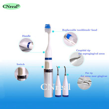 1 set Ultrasonic Electric Teeth Scaling Kit with Toothbrush Oral Hygiene