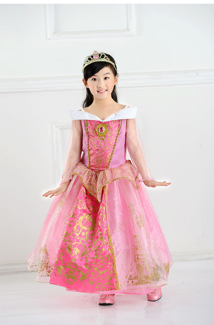 Princess Aurora Dress Sleeping Beauty Pink Ball Gown Christmas Performance Costume Party Wear Cosplay Clothes-in Dresses from Mother u0026 Kids on ...  sc 1 st  AliExpress.com & Princess Aurora Dress Sleeping Beauty Pink Ball Gown Christmas ...