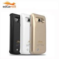 Goldfox 4200 mAh Harici Telefon Pil Şarj Kılıf Samsung Galaxy S6 Kenar Artı G9250 5.7 inç Telefon Için Pil Şarj kılıfları