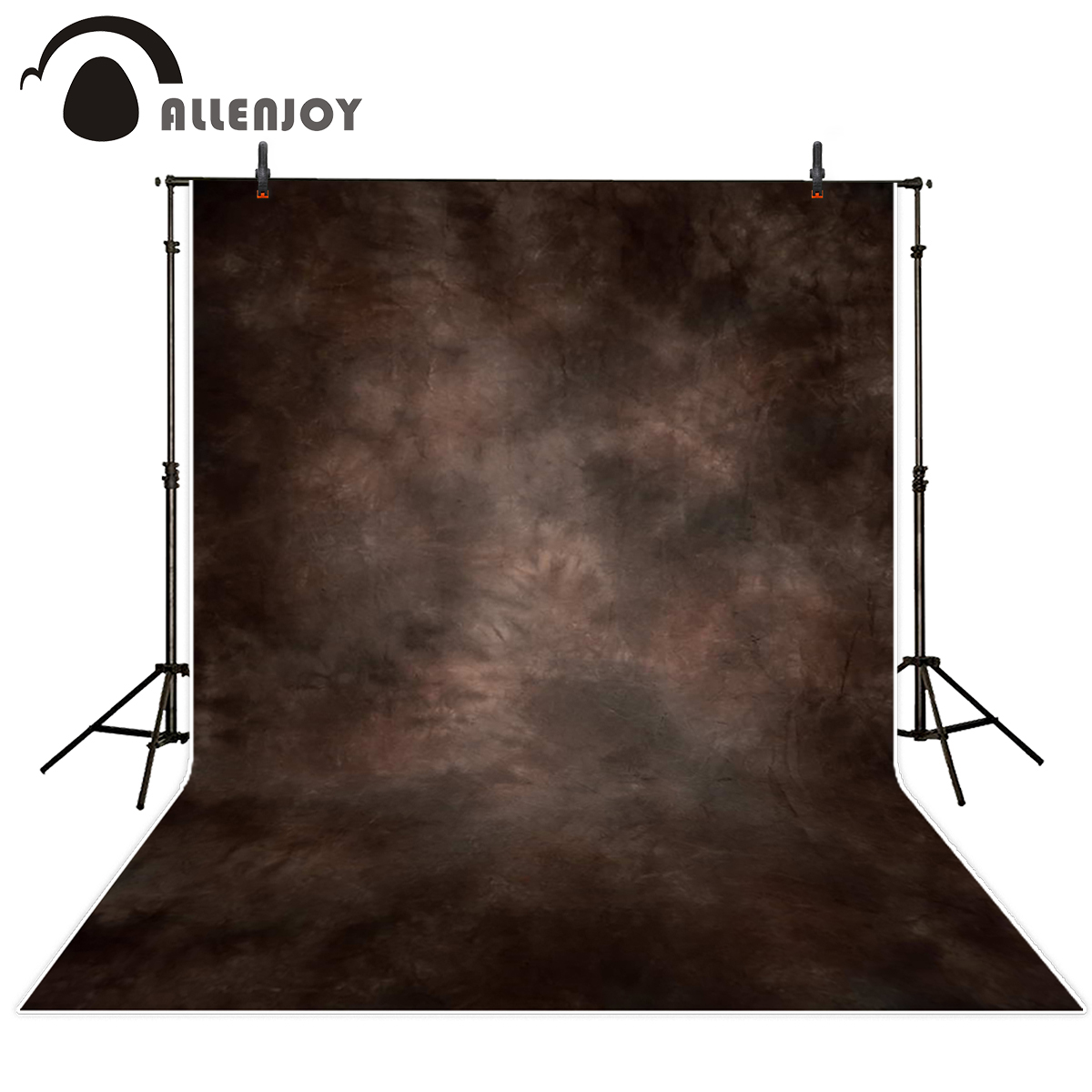 Allenjoy photography backdrop brown hazy fuzzy backgrounds photography background for photo studio коса al ko frs 4125