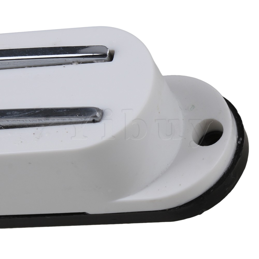 Yibuy Weiß 4 Draht Magnetische Dual Schiene Pickup Humbucker E ...