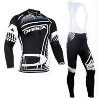2016 Team ORBEA Long Ropa Ciclismo Cycling Jerseys Autumn Mountian Bicycle Clothing MTB Bike Clothes For