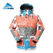 2017 Winter Windproof Waterproof Hiking Snowboard Ski Jacket Men Climbing Outdoor Sport Camping Snow Skiing Padded Parka Coat