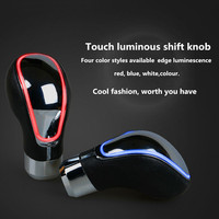 TOUCH MOTION ACTIVATED Blue / Red / White / Changeable LED LIGHT CAR SHIFT KNOB UNIVERSAL SHIFTER GEAR