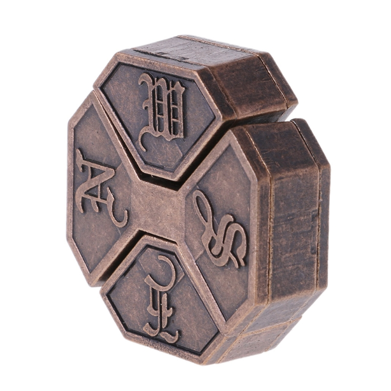 Puzzle Alloy Box Lock Brain Teaser IQ Test Toys Adults Children Kids Gifts Toy Games Puzzles Toy Child Gift image