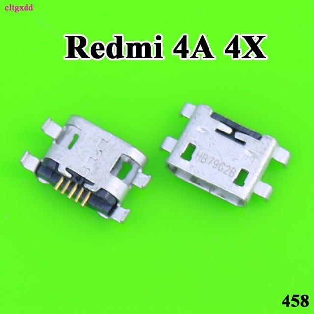Cltgxdd 10 piezas Micro USB carga puerto de carga conector toma de corriente para Xiaomi Redmi 4 4A 4X redmi Note 4 4X