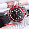 41mm corgeut black dial Sapphire Glass miyota 8215 Automatic diving watch C51