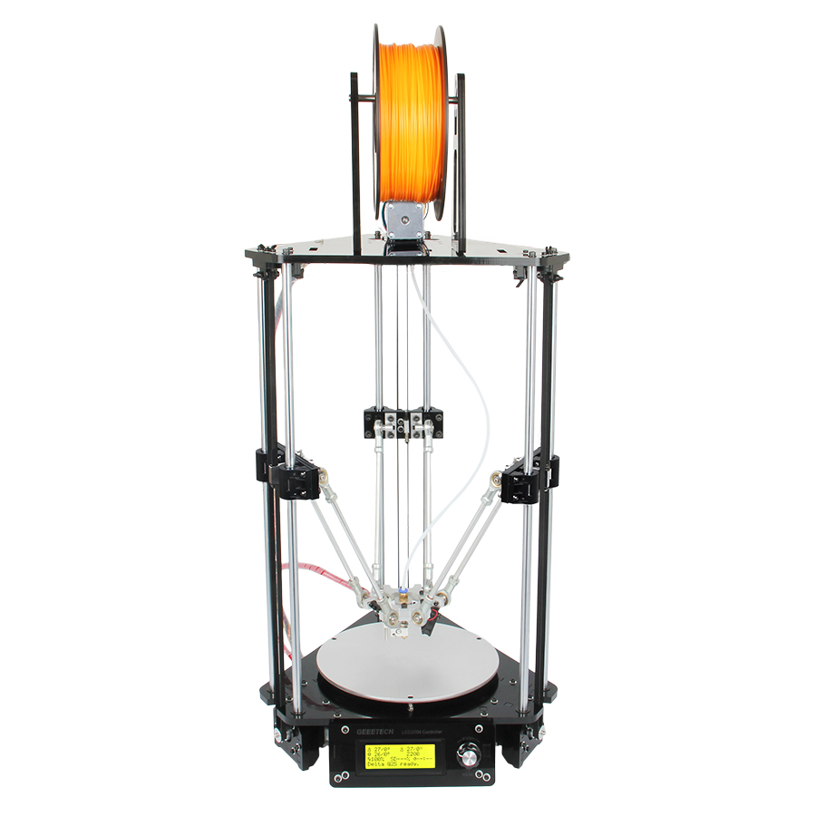 Geeetech Rostock Mini G2 Pro 3D Printer Auto Leveling All Metal Delta Printing DIY Kits High