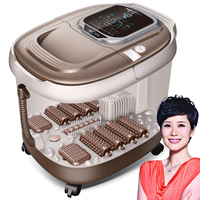 Fully Automatic Heating Foot Tub Electric Footbath Device Household Self Help Foot Massage Machine Deep Barrel
