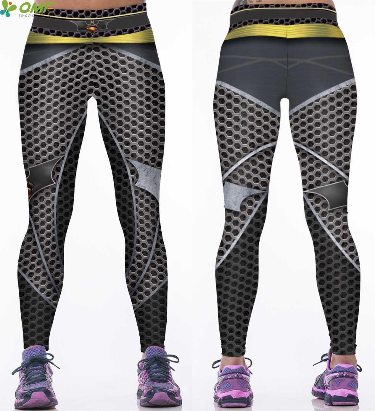 aee5c2739e819e ... Batman V Superman Power Flex Yoga Pants Batman Wonder Woman Running  Tights Justice League Sport Trousers ...